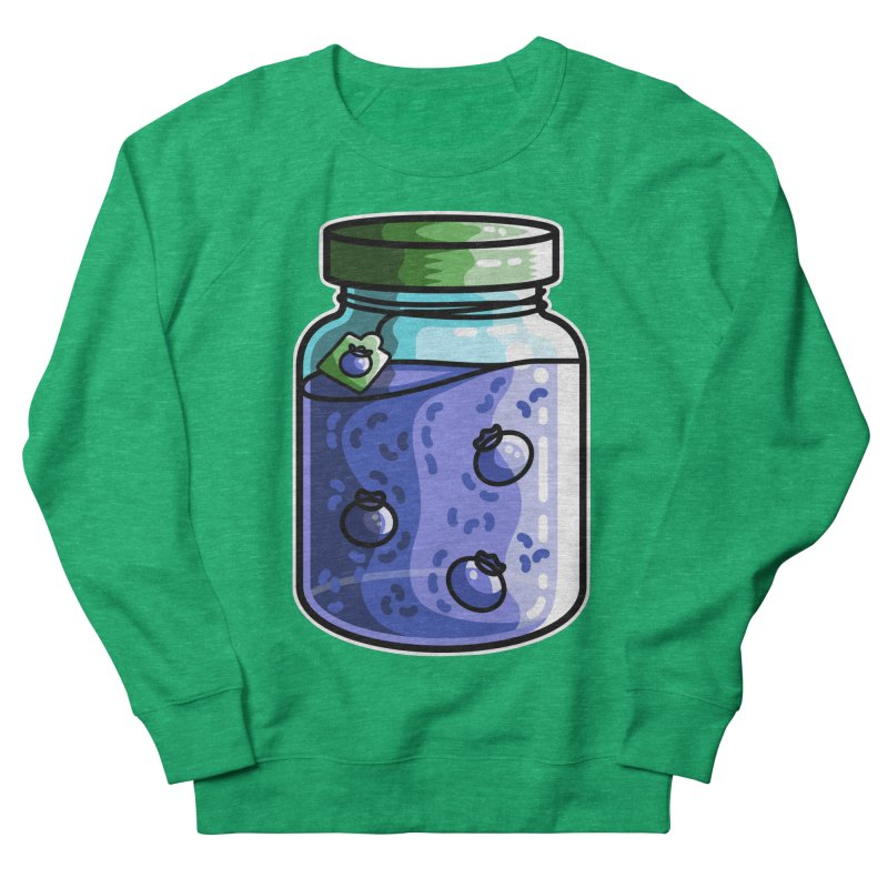 Cute Jar of Blueberry Jam Women's Sweatshirt by Flaming Imp's Artist Shop