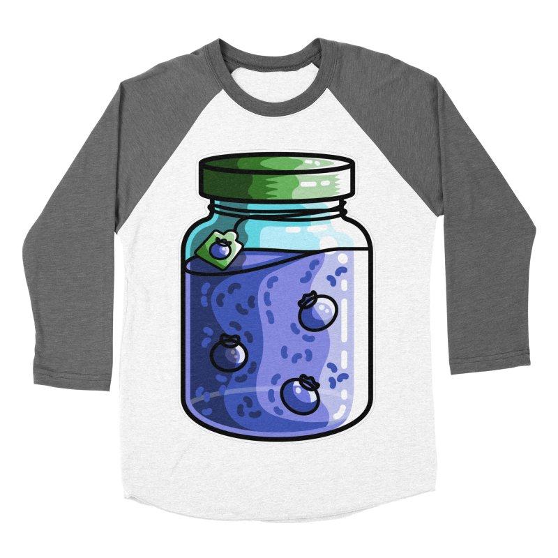 Cute Jar of Blueberry Jam Women's Longsleeve T-Shirt by Flaming Imp's Artist Shop