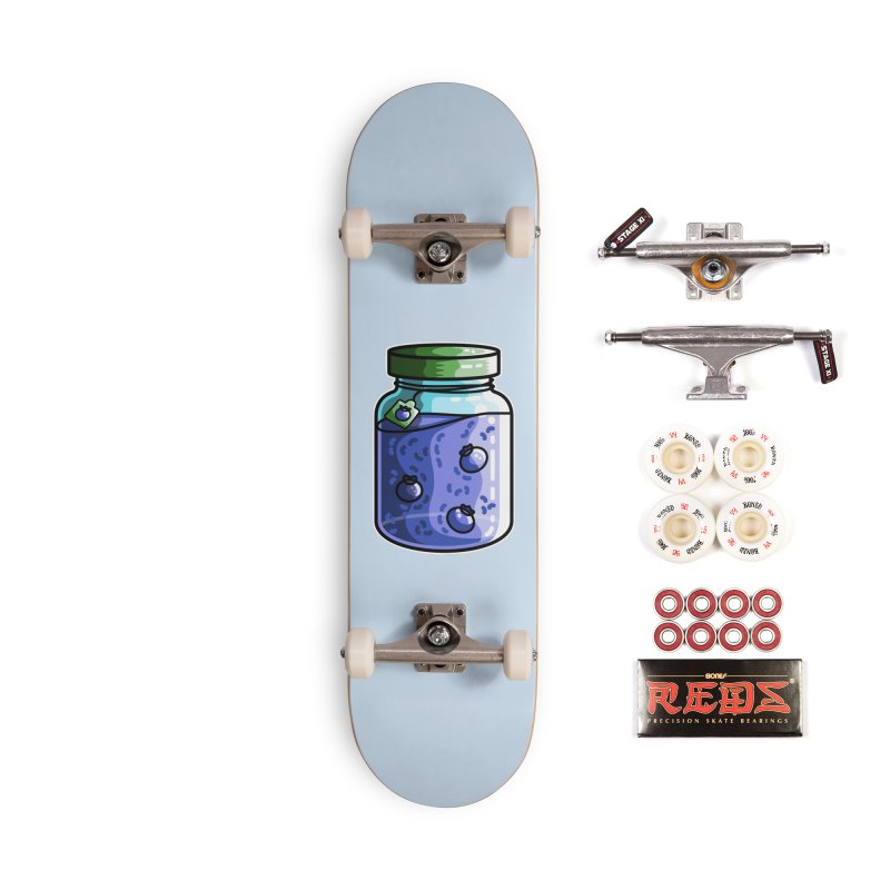 Cute Jar of Blueberry Jam Accessories Complete - Pro Skateboard by Flaming Imp's Artist Shop