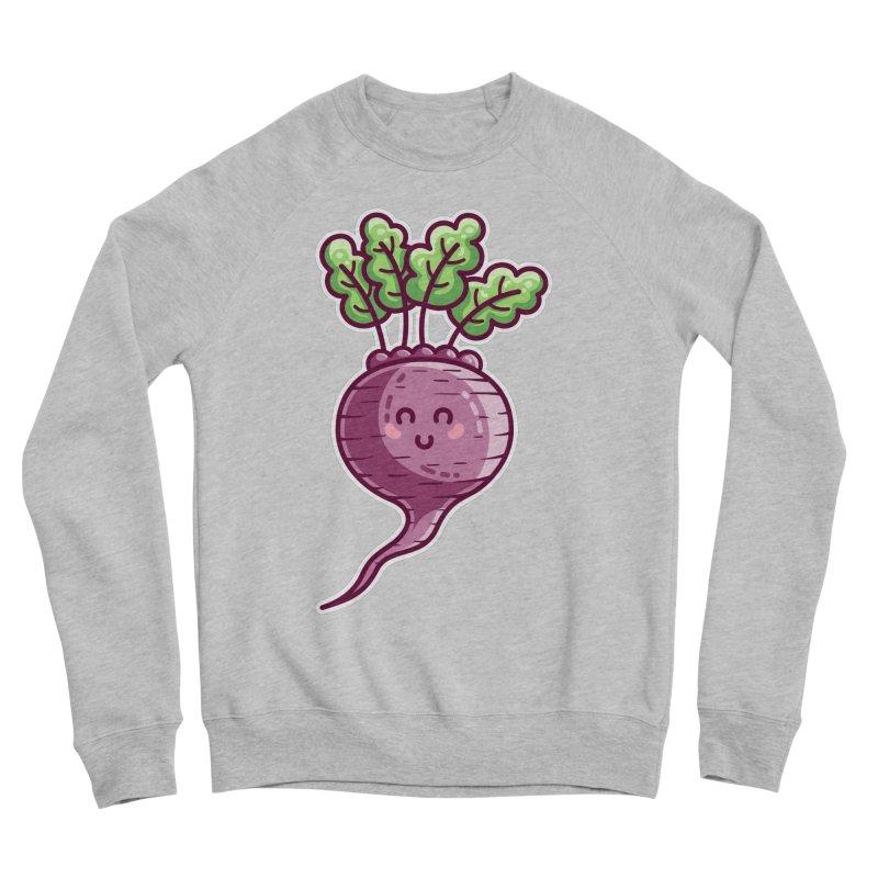 Kawaii Cute Beetroot Men's Sponge Fleece Sweatshirt by Flaming Imp's Artist Shop