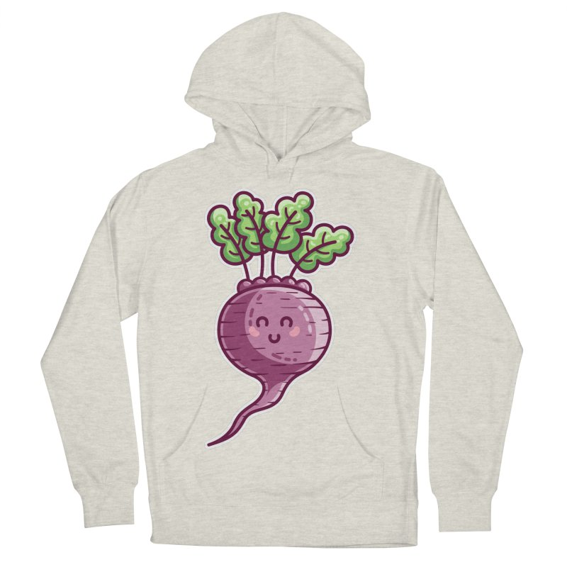 Kawaii Cute Beetroot Women's French Terry Pullover Hoody by Flaming Imp's Artist Shop