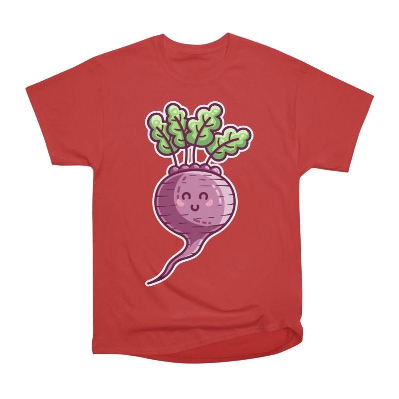Kawaii Cute Beetroot Men's Heavyweight T-Shirt by Flaming Imp's Artist Shop