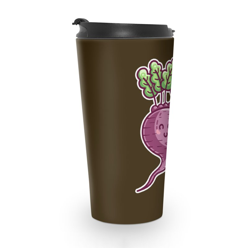 Kawaii Cute Beetroot Accessories Travel Mug by Flaming Imp's Artist Shop