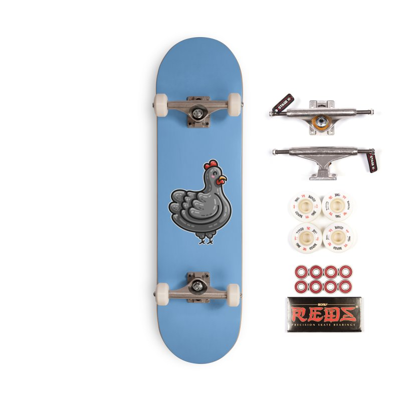 Kawaii Cute Chicken Accessories Complete - Pro Skateboard by Flaming Imp's Artist Shop