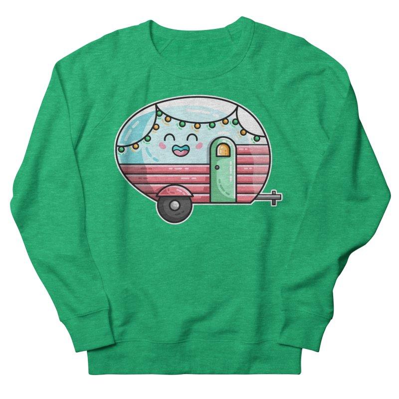 Kawaii Cute Vintage Caravan Women's Sweatshirt by Flaming Imp's Artist Shop