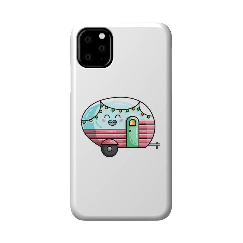 Kawaii Cute Vintage Caravan Accessories Phone Case by Flaming Imp's Artist Shop