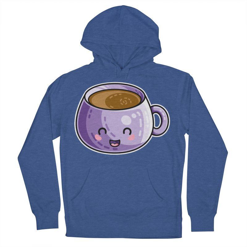 Kawaii Cute Coffee Women's French Terry Pullover Hoody by Flaming Imp's Artist Shop