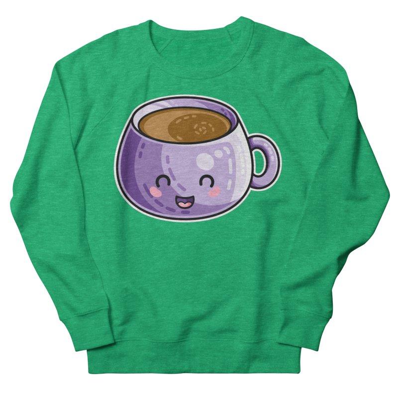 Kawaii Cute Coffee Women's Sweatshirt by Flaming Imp's Artist Shop