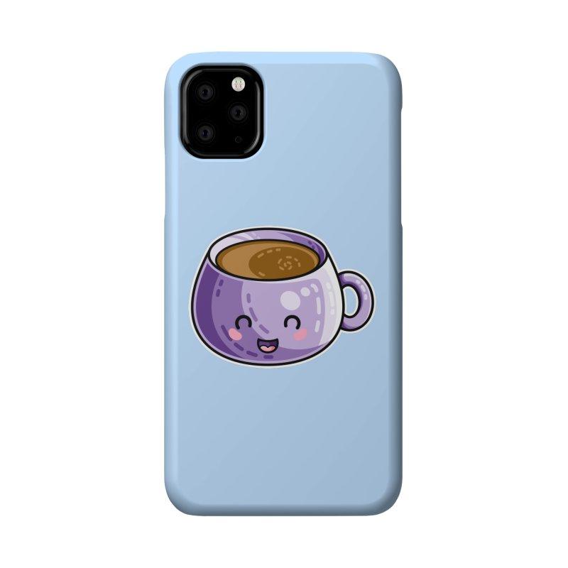 Kawaii Cute Coffee Accessories Phone Case by Flaming Imp's Artist Shop