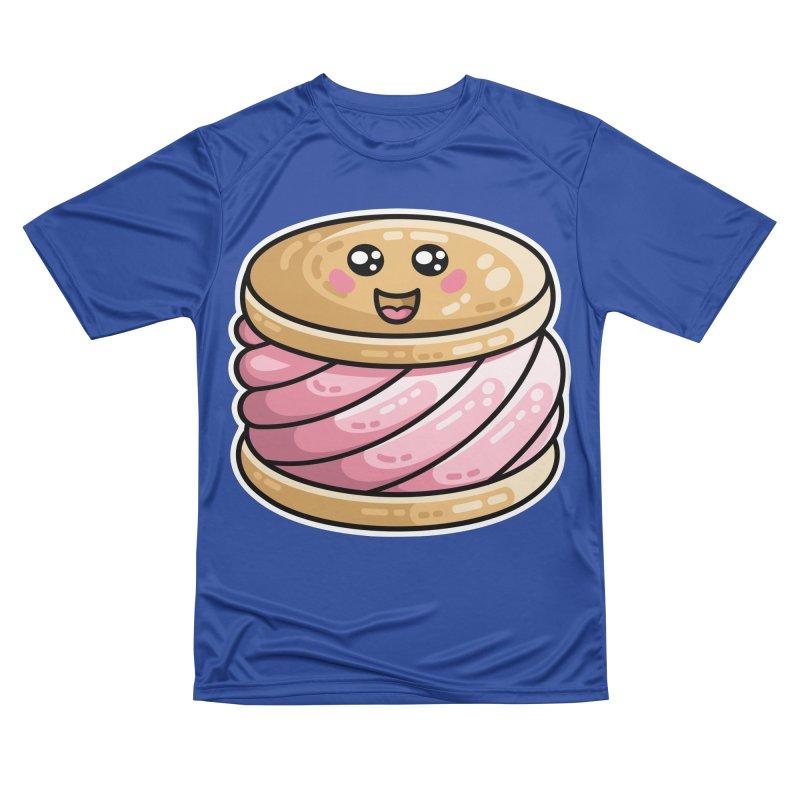 Kawaii Cute Ice Cream Sandwich Men's Performance T-Shirt by Flaming Imp's Artist Shop