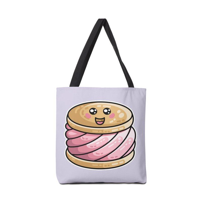 Kawaii Cute Ice Cream Sandwich Accessories Tote Bag Bag by Flaming Imp's Artist Shop