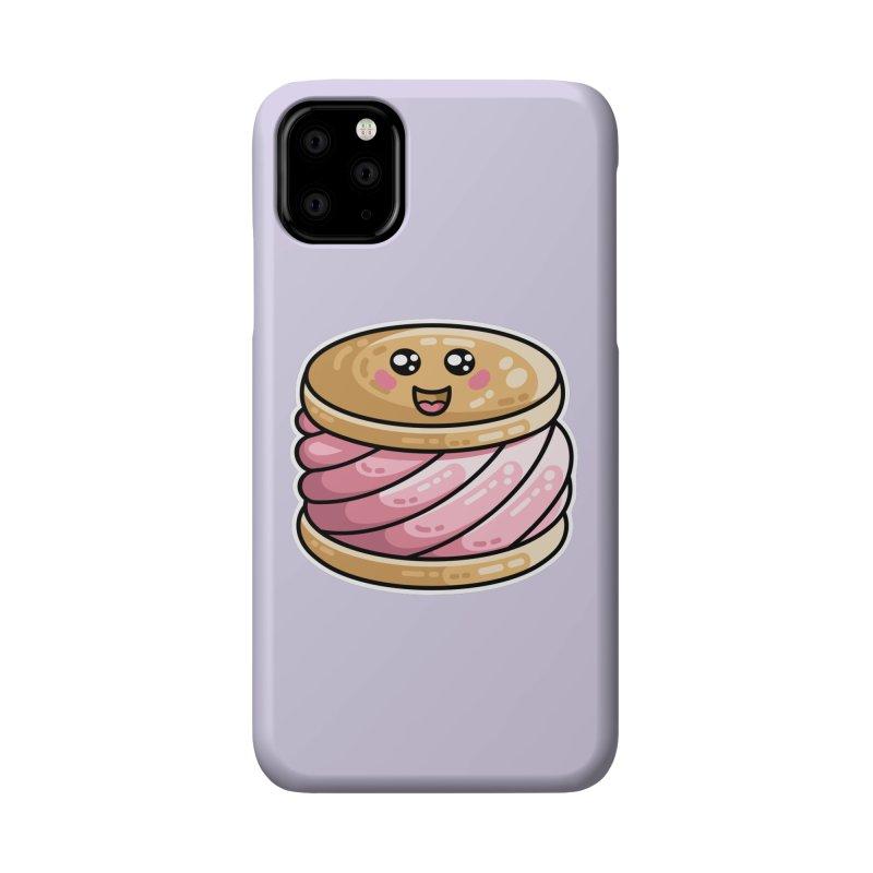 Kawaii Cute Ice Cream Sandwich Accessories Phone Case by Flaming Imp's Artist Shop