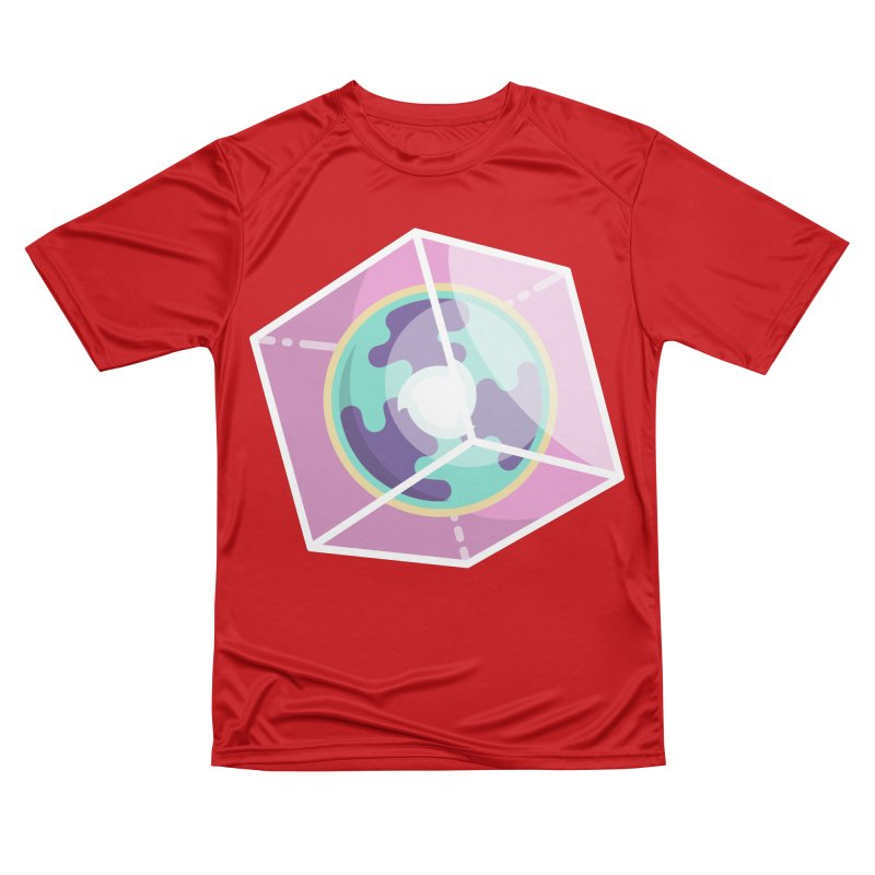 The Librarian Cube Dimensional Key Women's Performance Unisex T-Shirt by Flaming Imp's Artist Shop