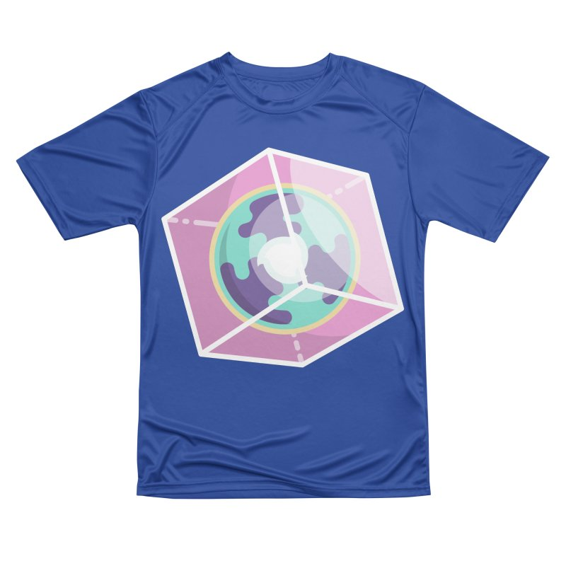 The Librarian Cube Dimensional Key Men's Performance T-Shirt by Flaming Imp's Artist Shop