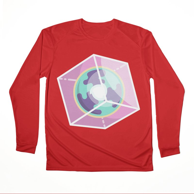 The Librarian Cube Dimensional Key Women's Performance Unisex Longsleeve T-Shirt by Flaming Imp's Artist Shop
