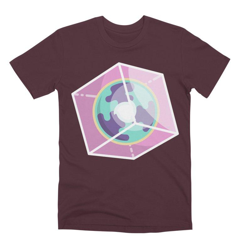 The Librarian Cube Dimensional Key Men's Premium T-Shirt by Flaming Imp's Artist Shop