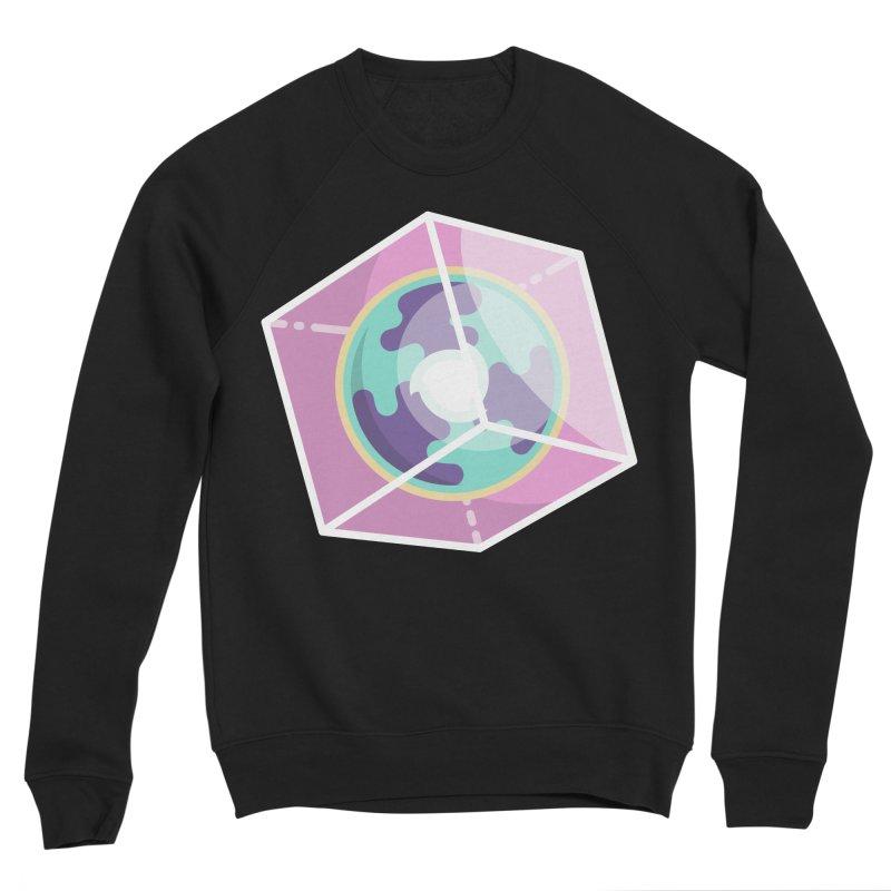 The Librarian Cube Dimensional Key Men's Sponge Fleece Sweatshirt by Flaming Imp's Artist Shop