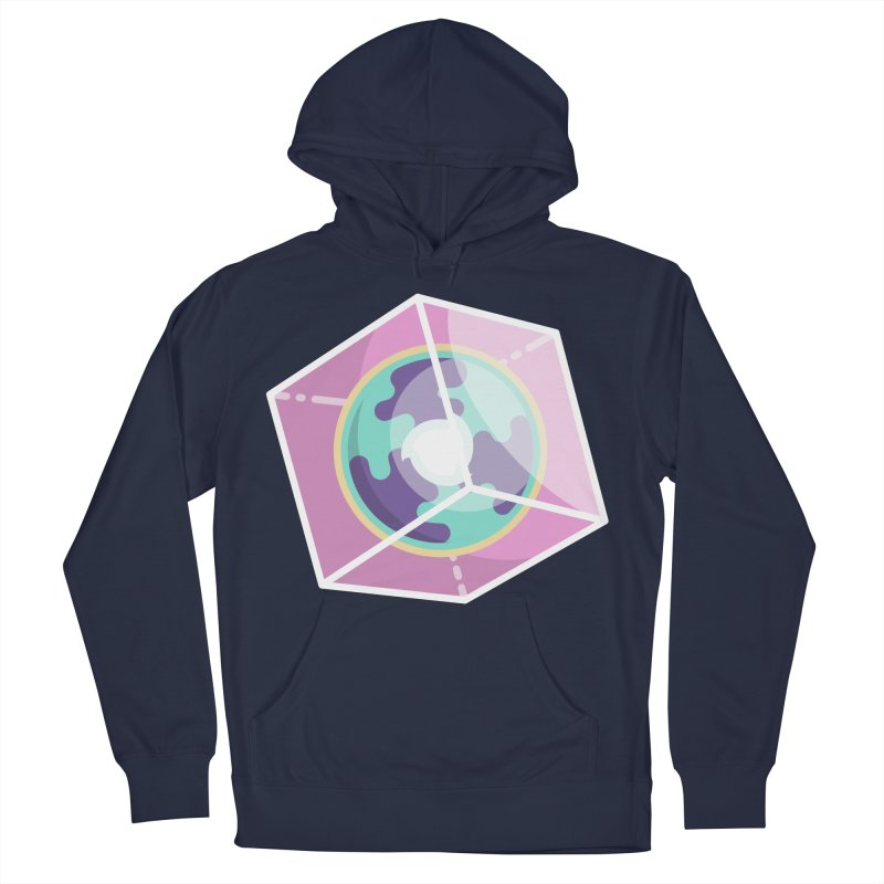The Librarian Cube Dimensional Key Women's French Terry Pullover Hoody by Flaming Imp's Artist Shop