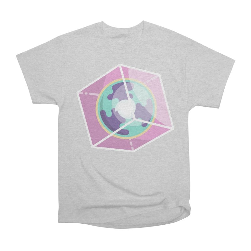 The Librarian Cube Dimensional Key Men's Heavyweight T-Shirt by Flaming Imp's Artist Shop