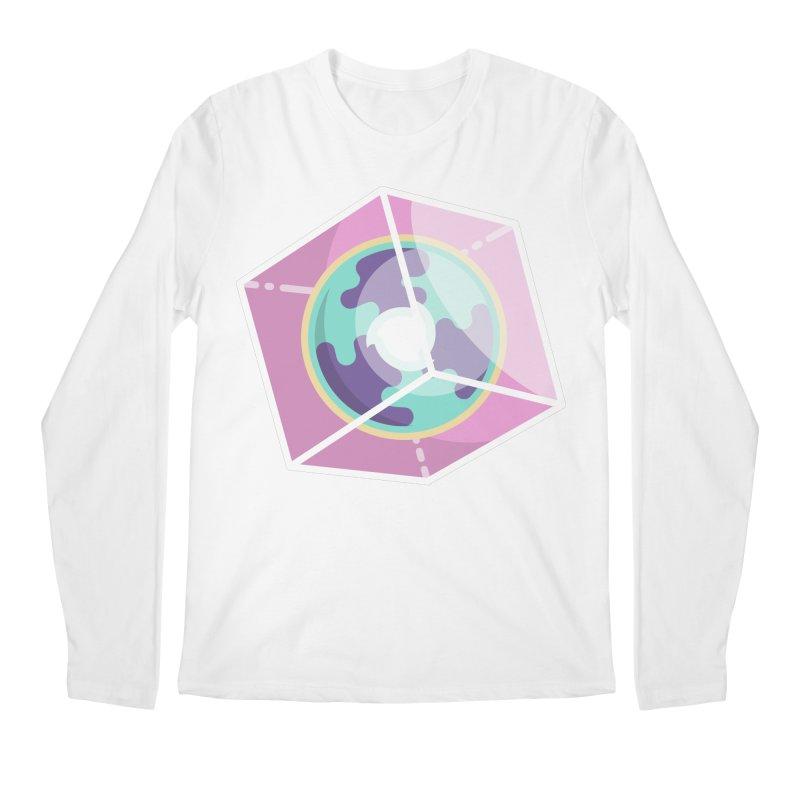 The Librarian Cube Dimensional Key Men's Regular Longsleeve T-Shirt by Flaming Imp's Artist Shop