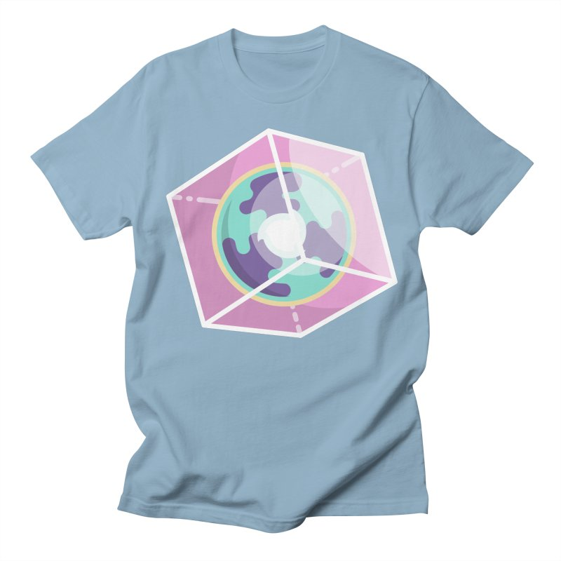 The Librarian Cube Dimensional Key Men's Regular T-Shirt by Flaming Imp's Artist Shop