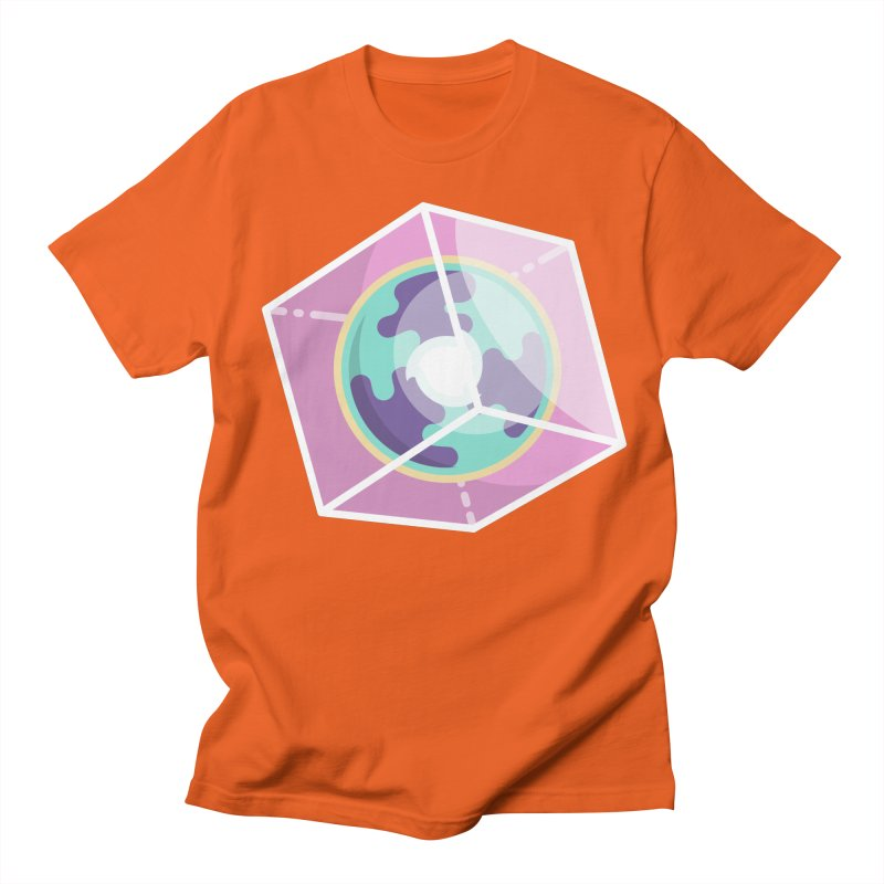 The Librarian Cube Dimensional Key Men's Regular T-Shirt by Flaming Imp's Artist Shop