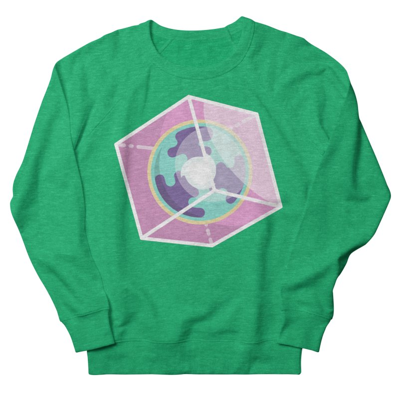 The Librarian Cube Dimensional Key Women's Sweatshirt by Flaming Imp's Artist Shop