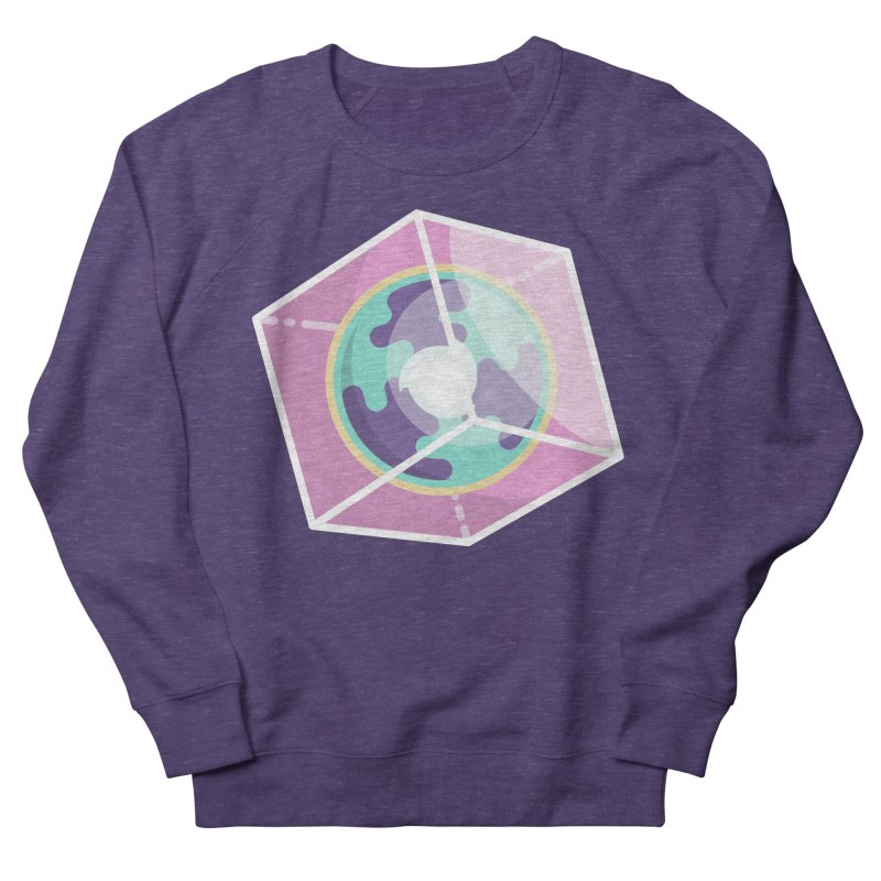 The Librarian Cube Dimensional Key Men's French Terry Sweatshirt by Flaming Imp's Artist Shop