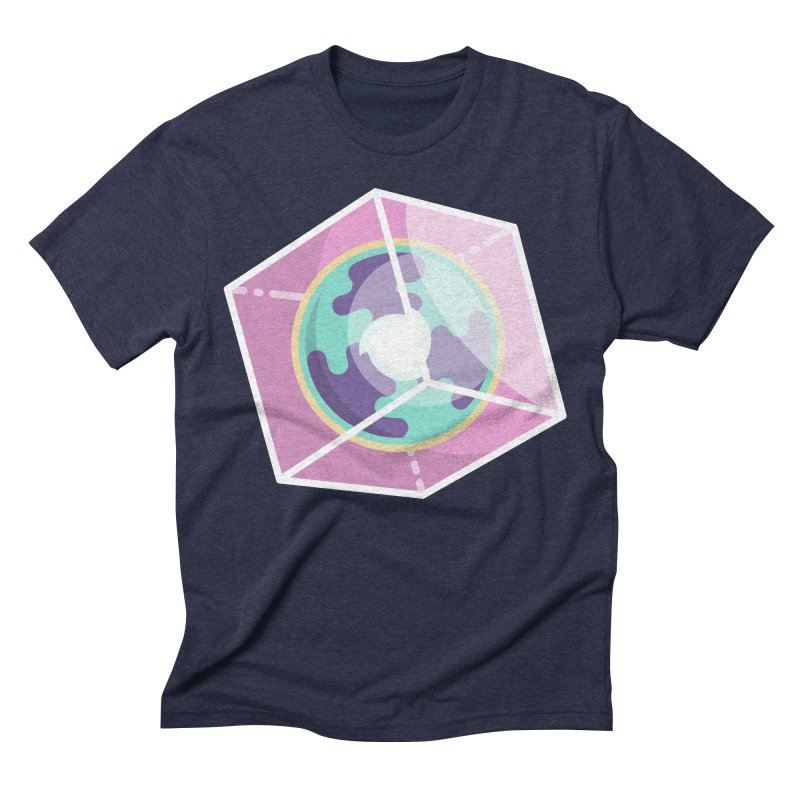 The Librarian Cube Dimensional Key Men's Triblend T-Shirt by Flaming Imp's Artist Shop