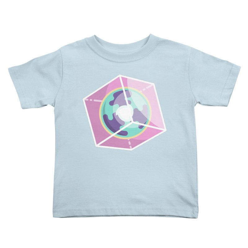 The Librarian Cube Dimensional Key Kids Toddler T-Shirt by Flaming Imp's Artist Shop