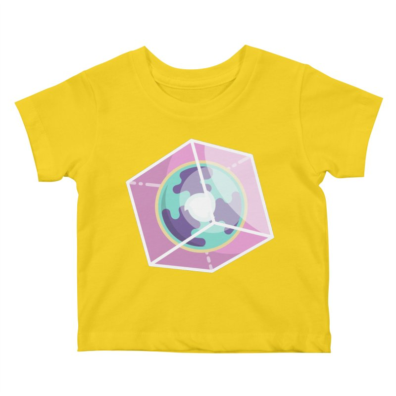 The Librarian Cube Dimensional Key Kids Baby T-Shirt by Flaming Imp's Artist Shop