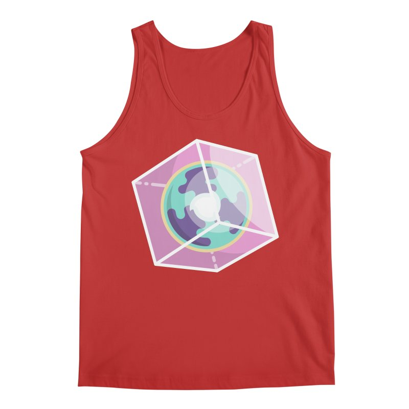The Librarian Cube Dimensional Key Men's Regular Tank by Flaming Imp's Artist Shop