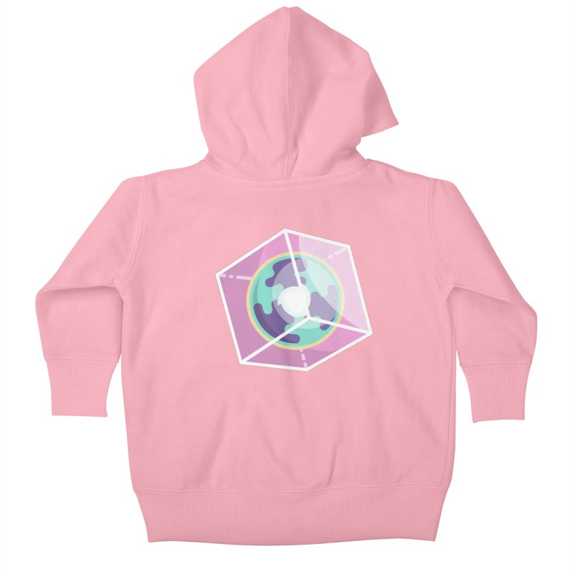 The Librarian Cube Dimensional Key Kids Baby Zip-Up Hoody by Flaming Imp's Artist Shop