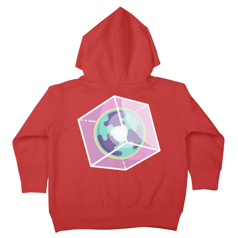 The Librarian Cube Dimensional Key Kids Toddler Zip-Up Hoody by Flaming Imp's Artist Shop