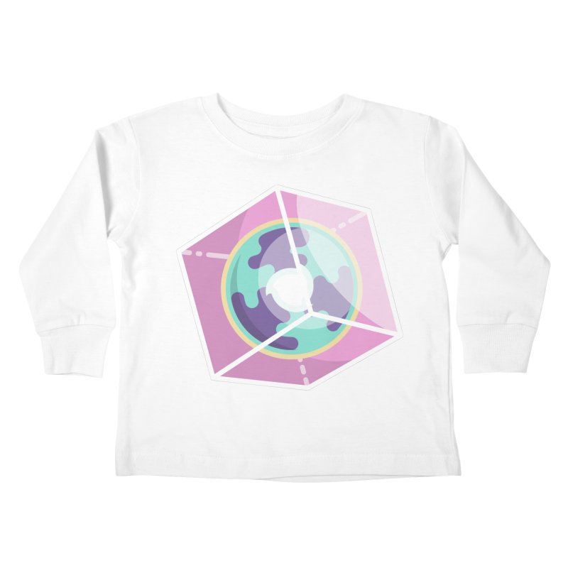 The Librarian Cube Dimensional Key Kids Toddler Longsleeve T-Shirt by Flaming Imp's Artist Shop