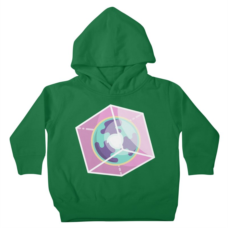 The Librarian Cube Dimensional Key Kids Toddler Pullover Hoody by Flaming Imp's Artist Shop