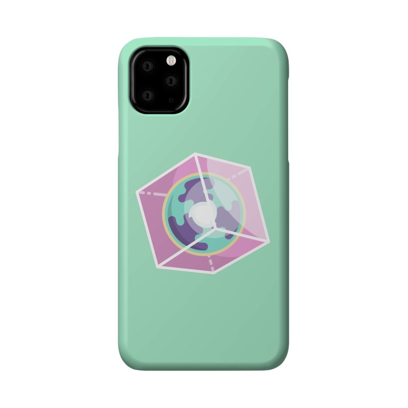 The Librarian Cube Dimensional Key Accessories Phone Case by Flaming Imp's Artist Shop