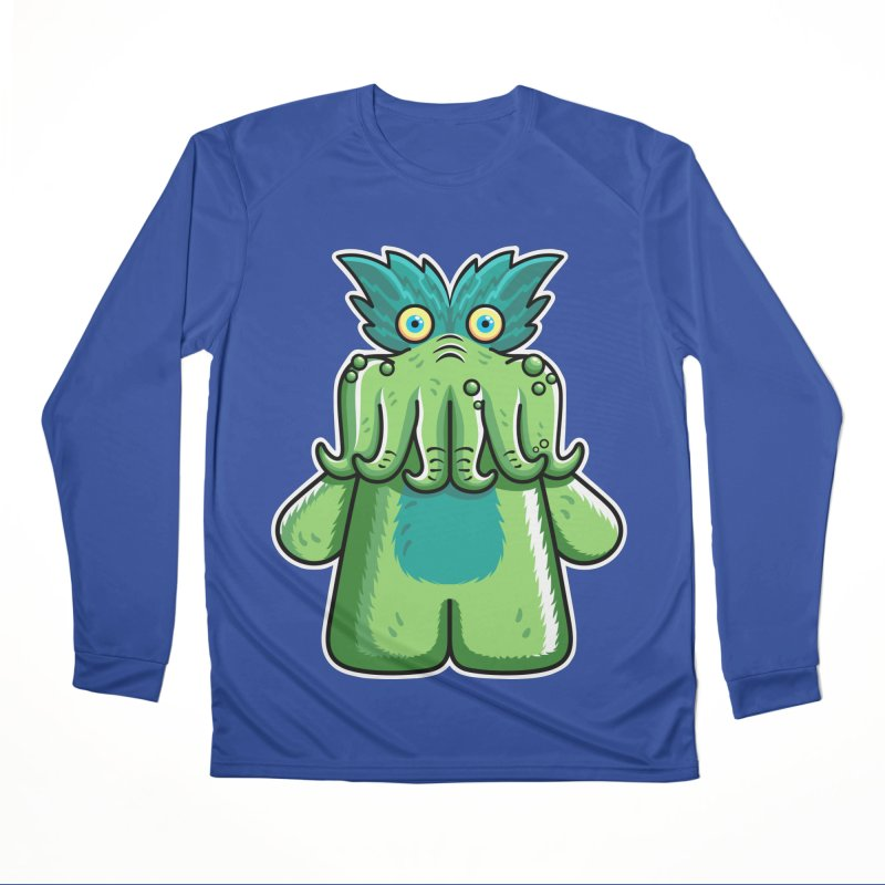 Black Friday Tickle-Me-Wiggly Women's Performance Unisex Longsleeve T-Shirt by Flaming Imp's Artist Shop