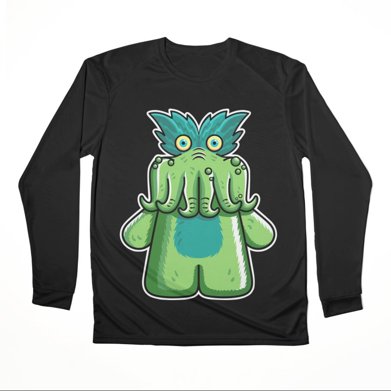 Black Friday Tickle-Me-Wiggly Men's Performance Longsleeve T-Shirt by Flaming Imp's Artist Shop