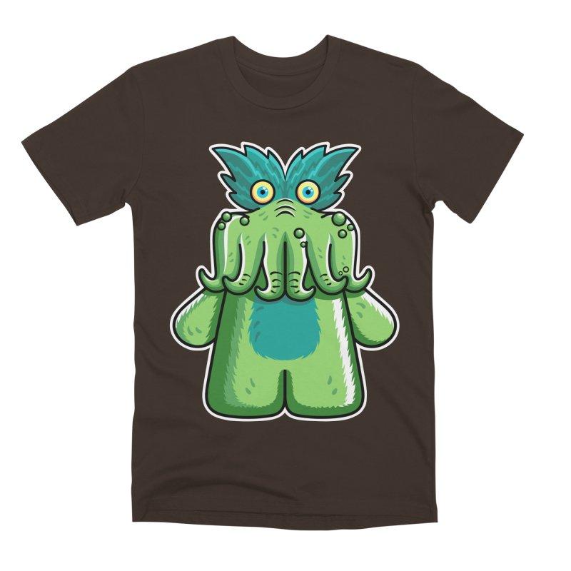 Black Friday Tickle-Me-Wiggly Men's Premium T-Shirt by Flaming Imp's Artist Shop