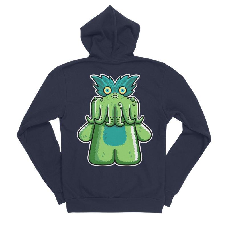 Black Friday Tickle-Me-Wiggly Men's Sponge Fleece Zip-Up Hoody by Flaming Imp's Artist Shop