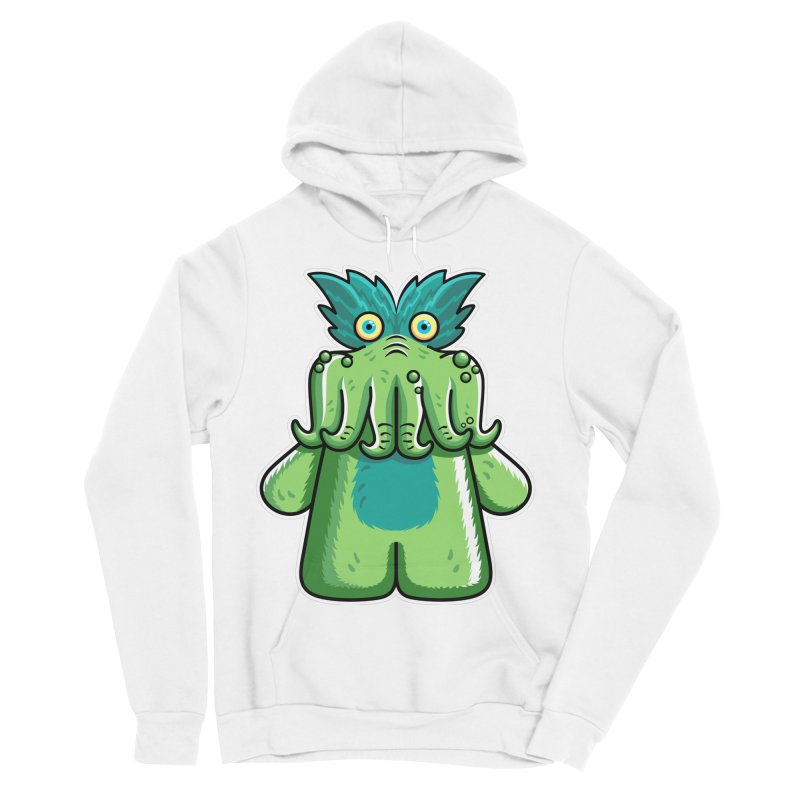 Black Friday Tickle-Me-Wiggly Men's Sponge Fleece Pullover Hoody by Flaming Imp's Artist Shop