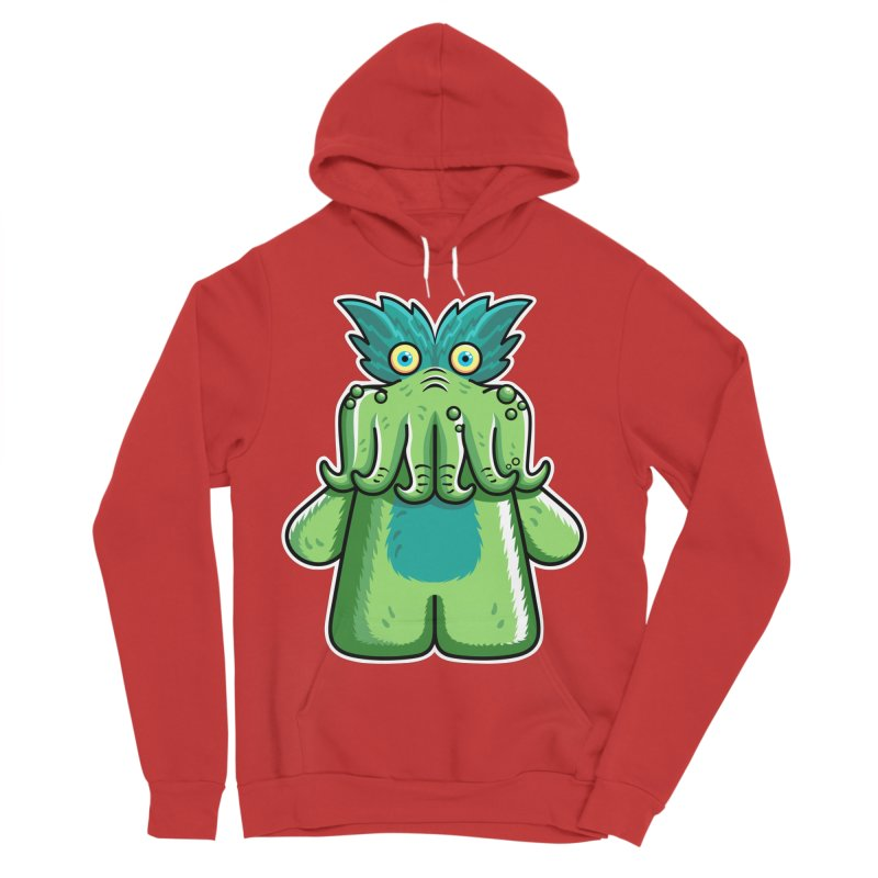 Black Friday Tickle-Me-Wiggly Women's Sponge Fleece Pullover Hoody by Flaming Imp's Artist Shop