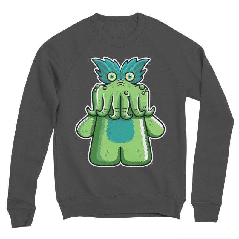 Black Friday Tickle-Me-Wiggly Men's Sponge Fleece Sweatshirt by Flaming Imp's Artist Shop