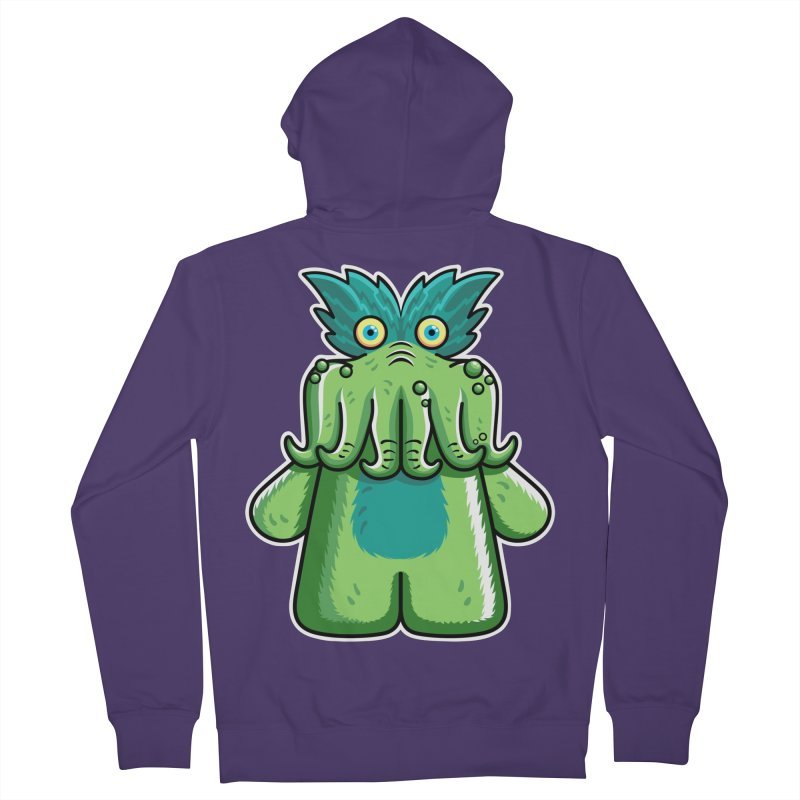 Black Friday Tickle-Me-Wiggly Women's French Terry Zip-Up Hoody by Flaming Imp's Artist Shop