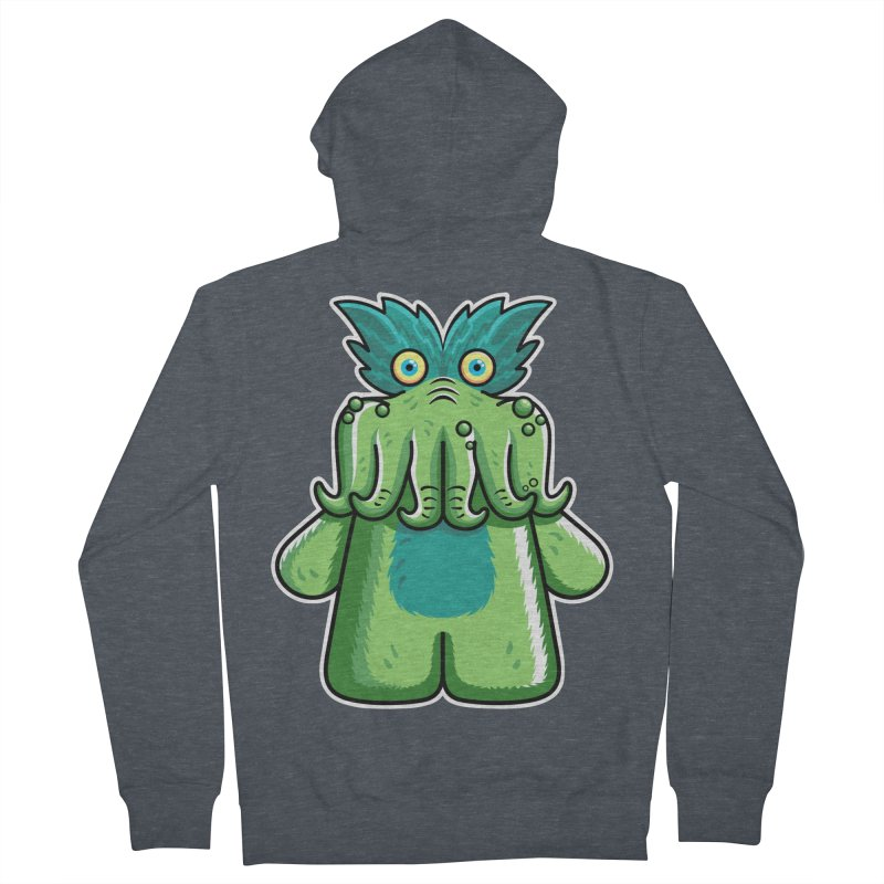 Black Friday Tickle-Me-Wiggly Men's French Terry Zip-Up Hoody by Flaming Imp's Artist Shop