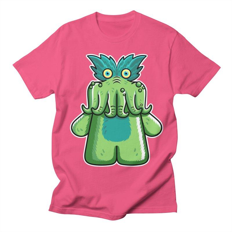 Black Friday Tickle-Me-Wiggly Men's Regular T-Shirt by Flaming Imp's Artist Shop