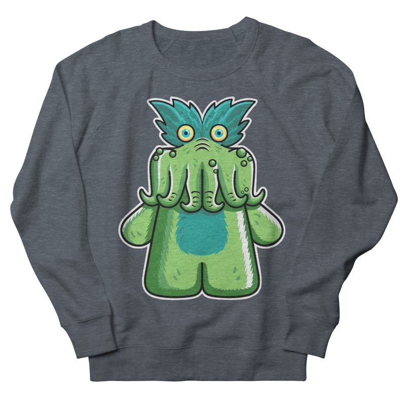 Black Friday Tickle-Me-Wiggly Women's French Terry Sweatshirt by Flaming Imp's Artist Shop