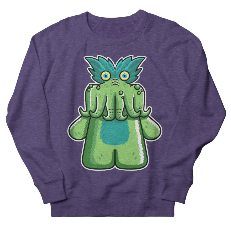 Black Friday Tickle-Me-Wiggly Men's French Terry Sweatshirt by Flaming Imp's Artist Shop