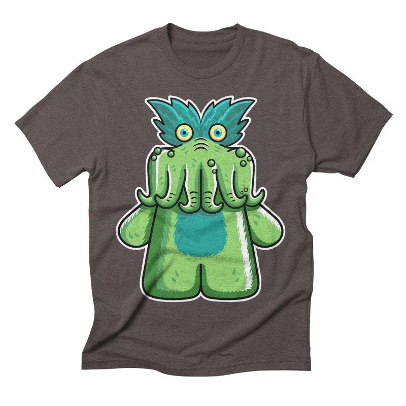 Black Friday Tickle-Me-Wiggly Men's Triblend T-Shirt by Flaming Imp's Artist Shop